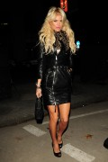 Victoria Silvstedt - out in Mayfair, London - November 20, 2010