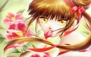 Cute and Hot Anime Girls - Mixed Quality Wallpapers 3c4864108506705