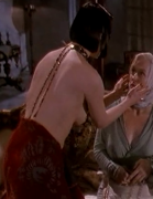Isabella Rossellini & Meryl Streep -cleavage & side boob- from DEATH BECOMES HER (2 non-HD caps)