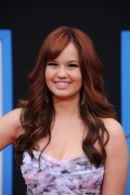 Дебби Райан, фото 1. Debby Ryan arrives at the World Premiere of Disney Pictures' 'Prom' held at The El Capitan Theater on April 21, 2011 in Hollywood, California, photo 1