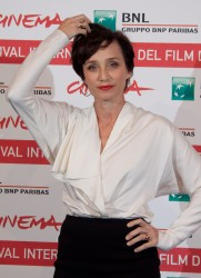 Кристин Скотт Томас, фото 67. Kristin Scott Thomas 'The Woman in the Fifth' Photocall at the International Rome Film Festival (30.10.2011), foto 67