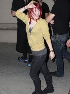 Hayley Williams - Greeting Fans