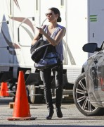Люси Алексис Лью, фото 1113. Lucy Alexis Liu – Leaving Set of Southland – LA – 1/5/12, foto 1113