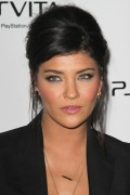 Джессика Зор, фото 1067. Jessica Szohr looking sexy as phuck in heels/leather pants the Sony PS Vita launch 2/15/12, foto 1067