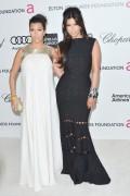 Ким Кардашиан, фото 7954. Kim Kardashian Elton John AIDS Foundation Academy Awards Party - 02/26/12*with sister Kourtney, foto 7954,