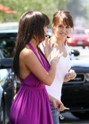 Jennifer Love Hewitt & Lacey Chabert *Share A Hug* In Hollywood -July 23rd 2010- (HQ X5)