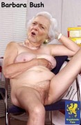 Barbara bush fake nude