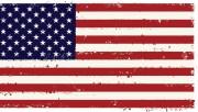 Это флаг США.  Не надо устраивать в этой...  Что Вы видите под ним.