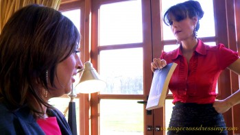Dominatrix Annabelle's Blackmailed Secretary